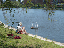 Yachtsman on the Charles