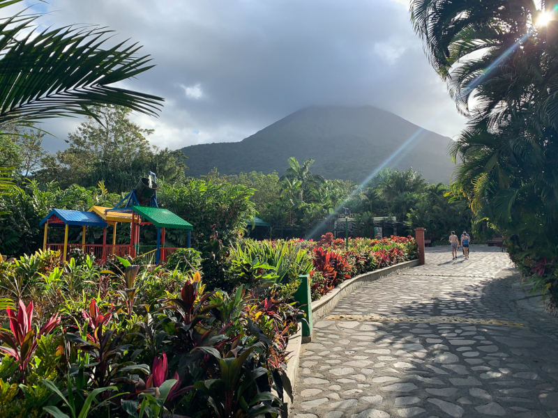 At the Foot of Arenal Volcano